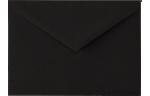 5 1/2 BAR Envelopes Black Linen