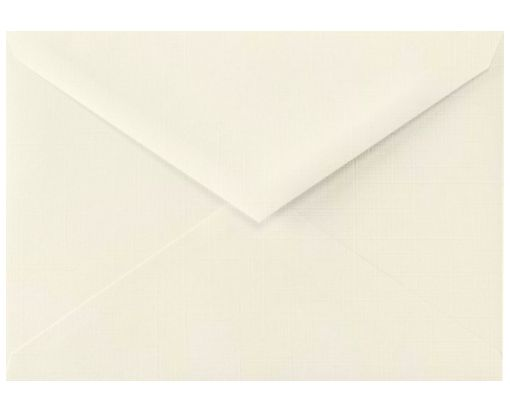 5 1/2 BAR Envelopes (4 3/8 x 5 3/4) Natural Linen