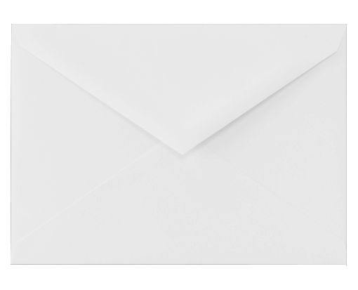 5 1/2 BAR Envelopes (4 3/8 x 5 3/4) 100% Cotton - Brilliant White