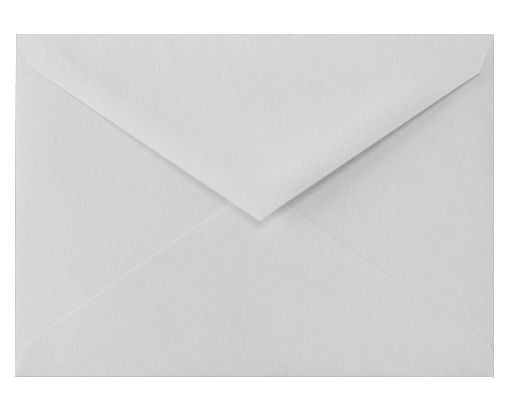 5 1/2 BAR Envelopes (4 3/8 x 5 3/4) 100% Cotton - Gray