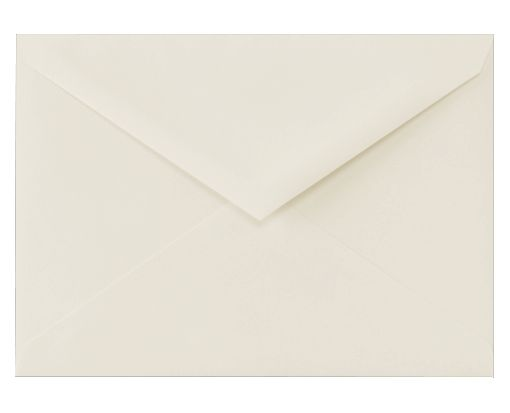 5 1/2 BAR Envelopes (4 3/8 x 5 3/4) 100% Cotton - Natural White