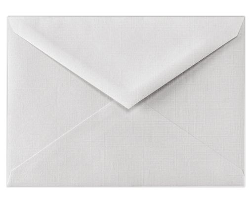 5 1/2 BAR Envelopes (4 3/8 x 5 3/4) White Linen