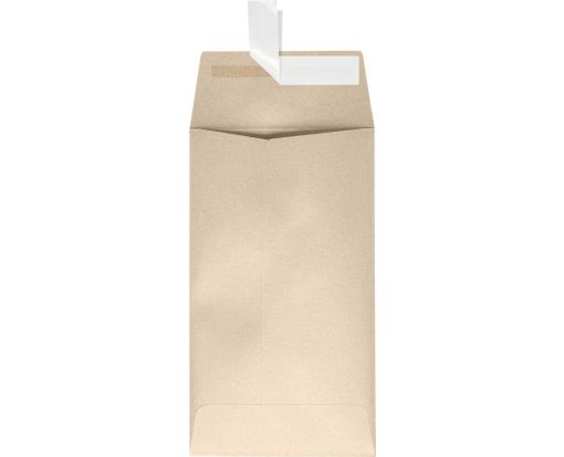 #5 1/2 Coin Envelopes (3 1/8 x 5 1/2) Taupe Metallic