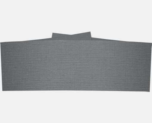 5 1/4 x 2 Belly Bands Sterling Gray Linen