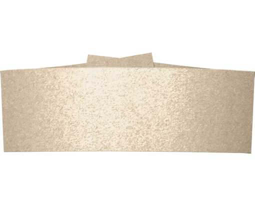5 1/4 x 2 Belly Bands Taupe Metallic