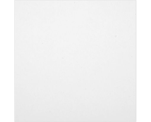 5 1/4 x 5 1/4 Flat Card - 110lb. White - 100% Recycled White - 100% Recycled