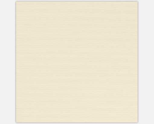 5 3/4 x 5 3/4 Square Flat Card Natural Linen