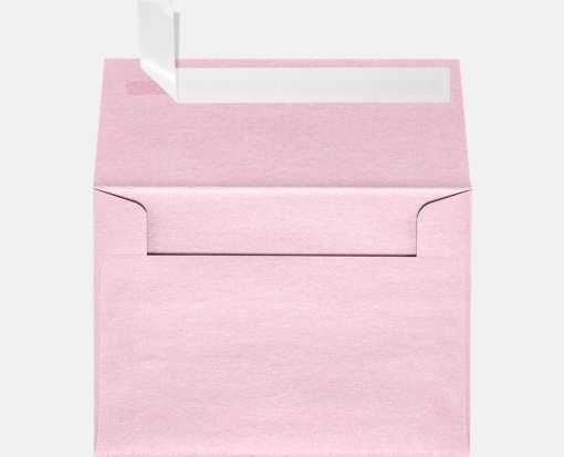 A1 Invitation Envelopes (3 5/8 x 5 1/8) Rose Quartz Metallic