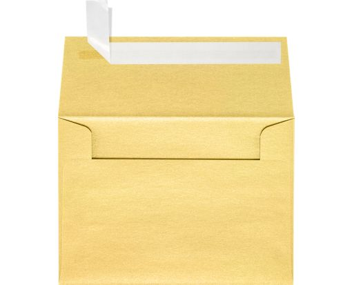 A1 Invitation Envelopes (3 5/8 x 5 1/8) Gold Metallic