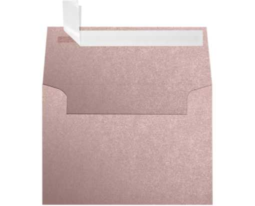 A1 Invitation Envelopes (3 5/8 x 5 1/8) Misty Rose Metallic - Sirio Pearl®