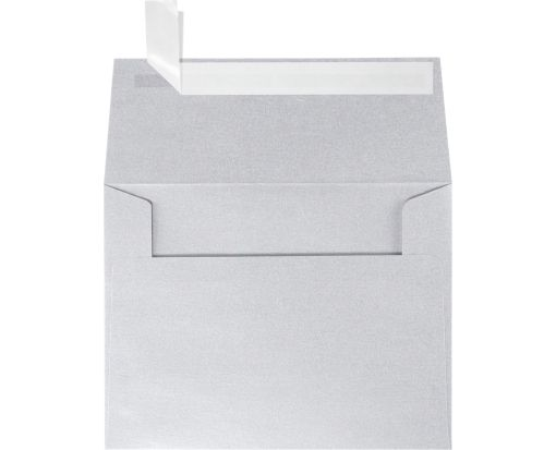 A2 Invitation Envelopes (4 3/8 x 5 3/4) Silver Metallic