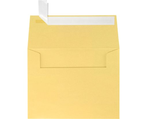 A2 Invitation Envelopes (4 3/8 x 5 3/4) Gold Metallic