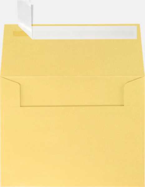 gold metallic a2 envelopes square flap 4 3 8 x 5 3 4