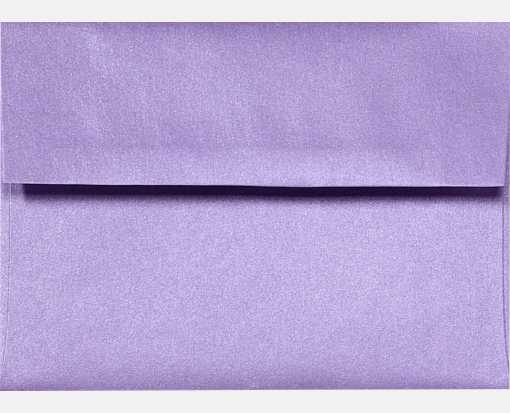 A2 Invitation Envelopes (4 3/8 x 5 3/4) Amethyst Metallic