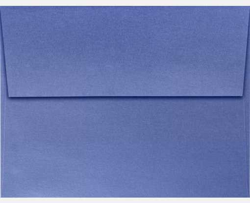 A2 Invitation Envelopes (4 3/8 x 5 3/4) Sapphire Metallic