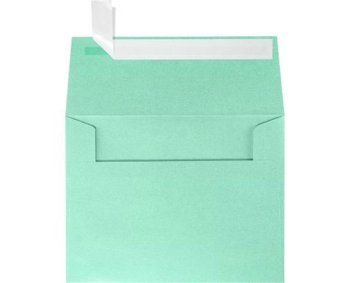 A2 Invitation Envelopes (4 3/8 x 5 3/4) Lagoon Metallic