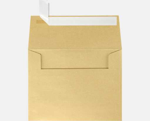 A2 Invitation Envelopes (4 3/8 x 5 3/4) Blonde Metallic