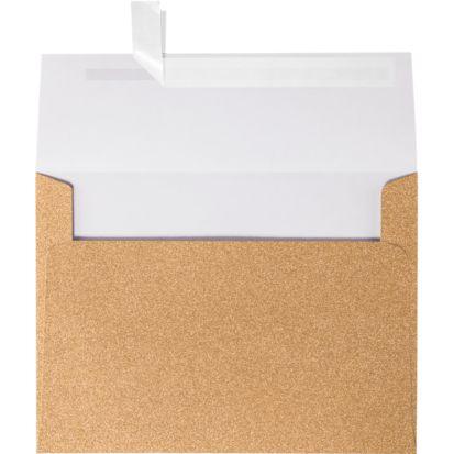 A7 Glitter Envelopes 5 1 4 X 7 1 4 Rose Gold Sparkle