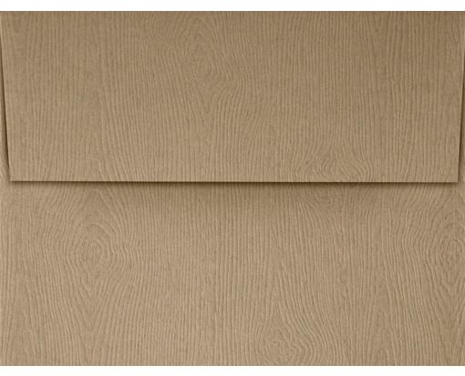 A2 Invitation Envelopes (4 3/8 x 5 3/4) Oak Woodgrain