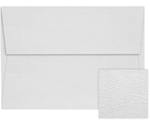 A2 Invitation Envelopes (4 3/8 x 5 3/4) White Birch Woodgrain