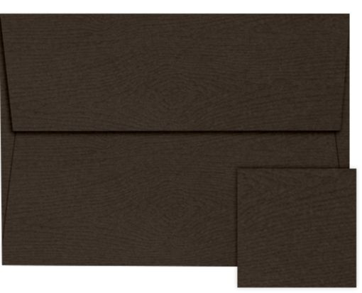 A2 Invitation Envelopes (4 3/8 x 5 3/4) Teak Woodgrain