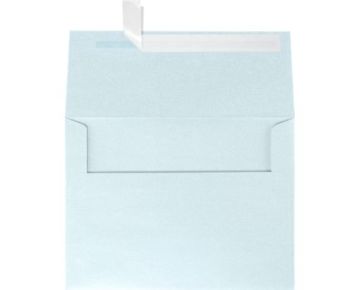 A6 Invitation Envelopes (4 3/4 x 6 1/2) Aquamarine Metallic