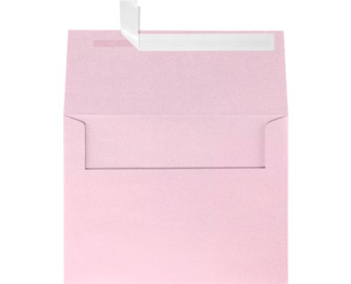 A6 Invitation Envelopes (4 3/4 x 6 1/2) Rose Quartz Metallic