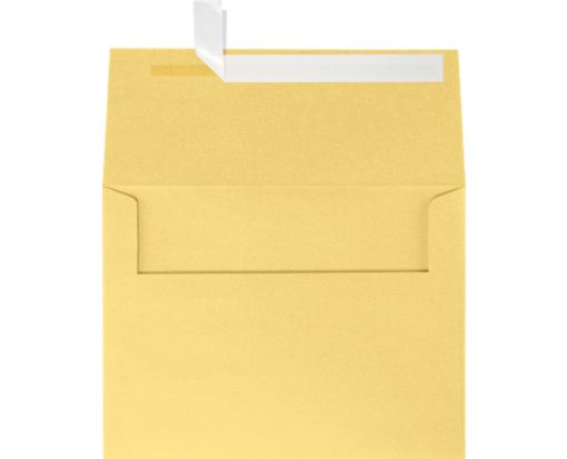 A6 Invitation Envelopes (4 3/4 x 6 1/2) Gold Metallic