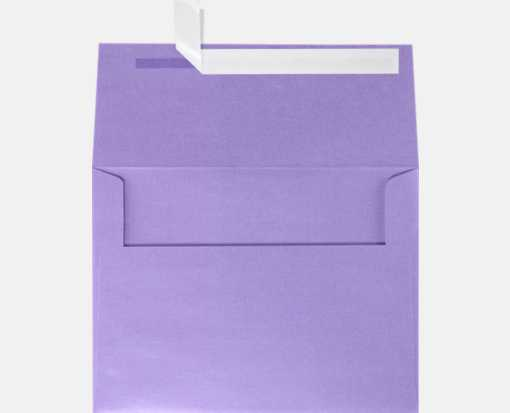 A6 Invitation Envelopes (4 3/4 x 6 1/2) Amethyst Metallic