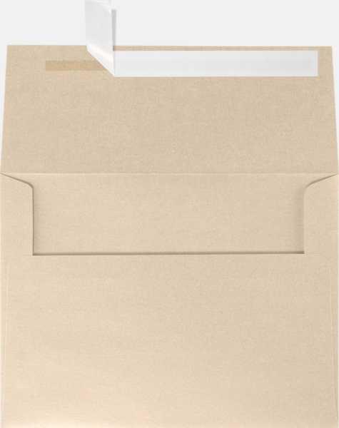 taupe metallic gold a6 envelopes square flap 4 3 4 x 6 1 2