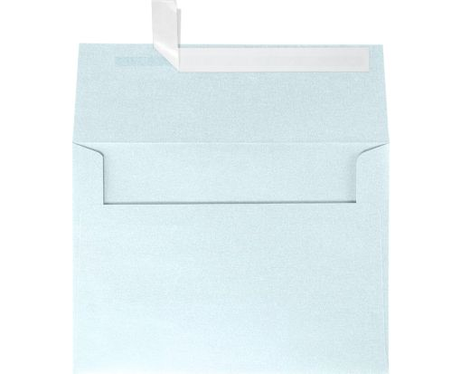 A7 Invitation Envelopes (5 1/4 x 7 1/4) Aquamarine Metallic