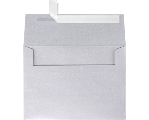 A7 Invitation Envelopes (5 1/4 x 7 1/4) Silver Metallic