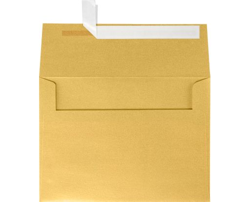 A7 Invitation Envelopes (5 1/4 x 7 1/4) Gold Metallic