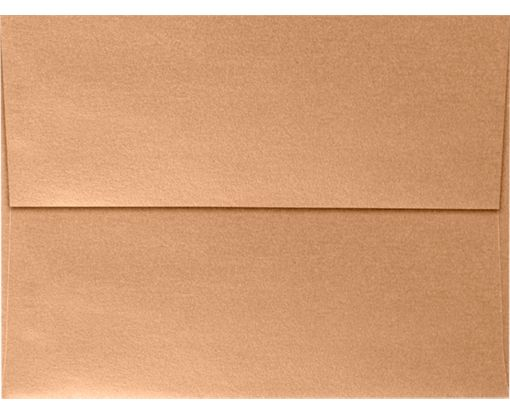 A7 Invitation Envelopes (5 1/4 x 7 1/4) Copper Metallic