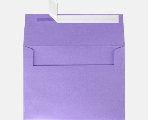amethyst metallic purple a7 envelopes square flap 5 1