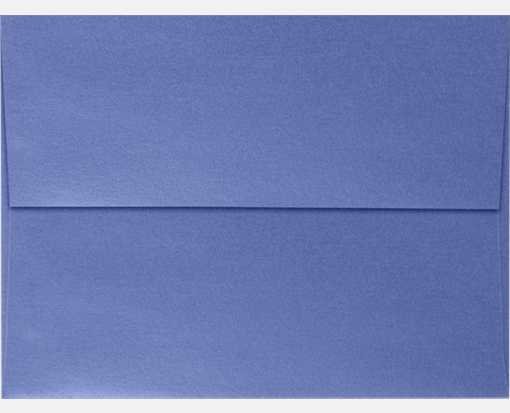 A7 Invitation Envelopes (5 1/4 x 7 1/4) Sapphire Metallic