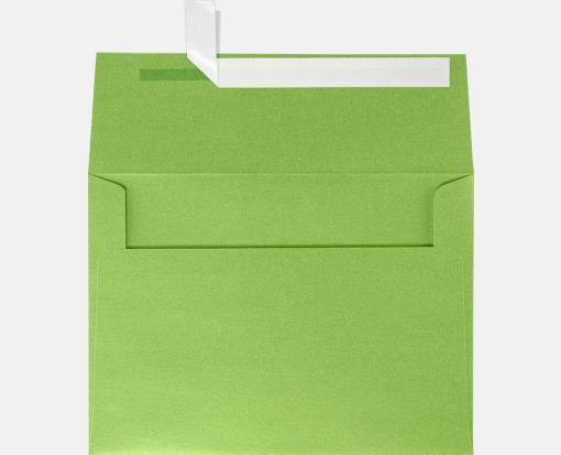 fairway metallic green a7 envelopes square flap 5 1 4 x 7 1 4