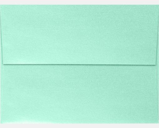 lagoon metallic green a7 envelopes square flap 5 1 4 x 7 1 4