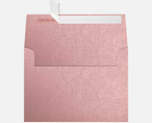 A7 Invitation Envelopes (5 1/4 x 7 1/4) Misty Rose Metallic - Sirio Pearl®
