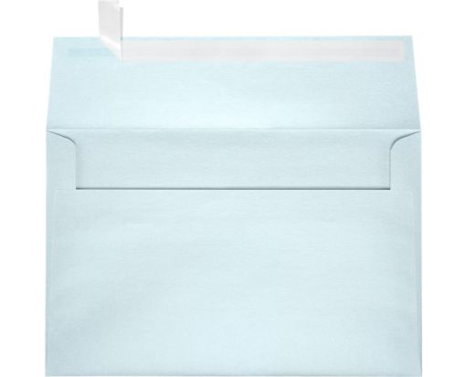A9 Invitation Envelopes (5 3/4 x 8 3/4) Aquamarine Metallic