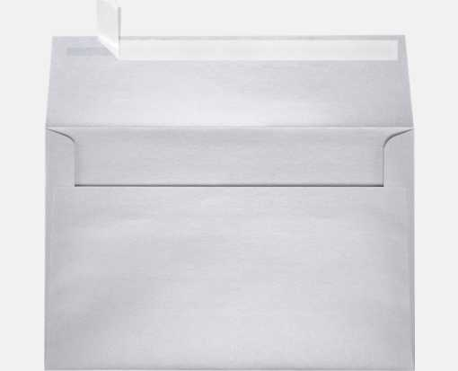 A9 Invitation Envelopes (5 3/4 x 8 3/4) Silver Metallic