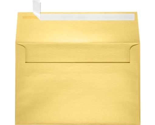 A9 Invitation Envelopes (5 3/4 x 8 3/4) Gold Metallic