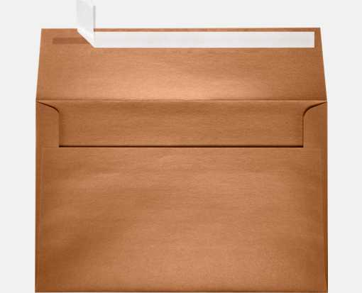 A9 Invitation Envelopes (5 3/4 x 8 3/4) Copper Metallic