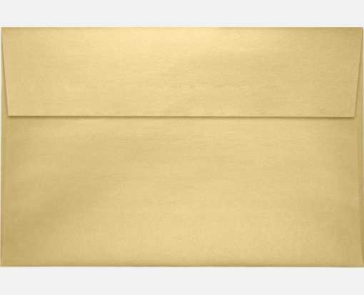 A9 Invitation Envelopes (5 3/4 x 8 3/4) Blonde Metallic