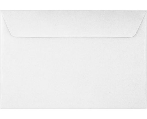6 x 9 Booklet Envelopes White - 30% Recycled