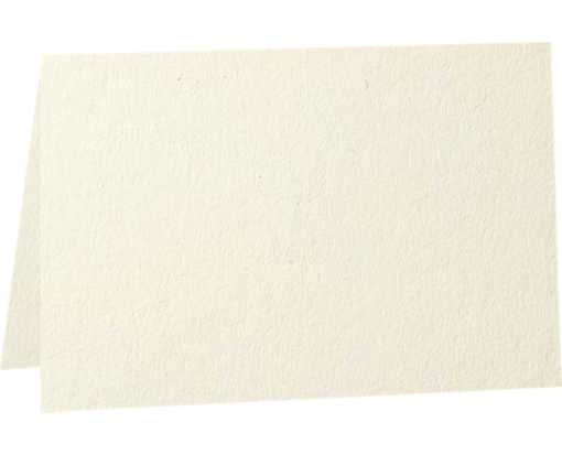 5 x 7 Folded Card - 80b. Natural - 100% Recycled Natural - 100% Recycled
