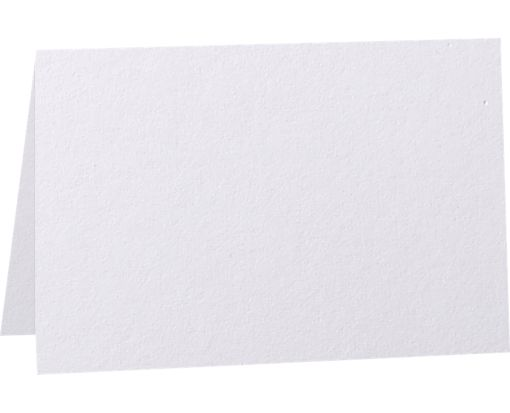 5 x 7 Folded Card - 80lb. Bright White Bright White