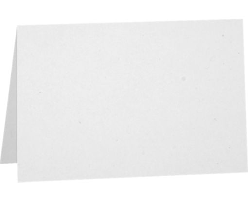 5 x 7 Folded Card - 80lb. White - 100% Recycled White - 100% Recycled