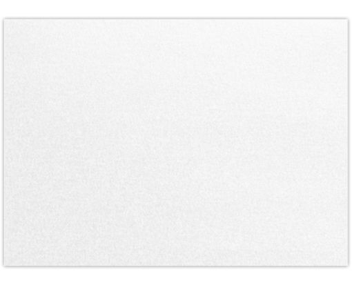 5 x 7 Flat Card - 105lb. Crystal Metallic Crystal Metallic