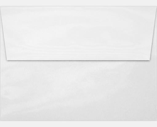 glossy white a7 envelopes square flap 5 1 4 x 7 1 4